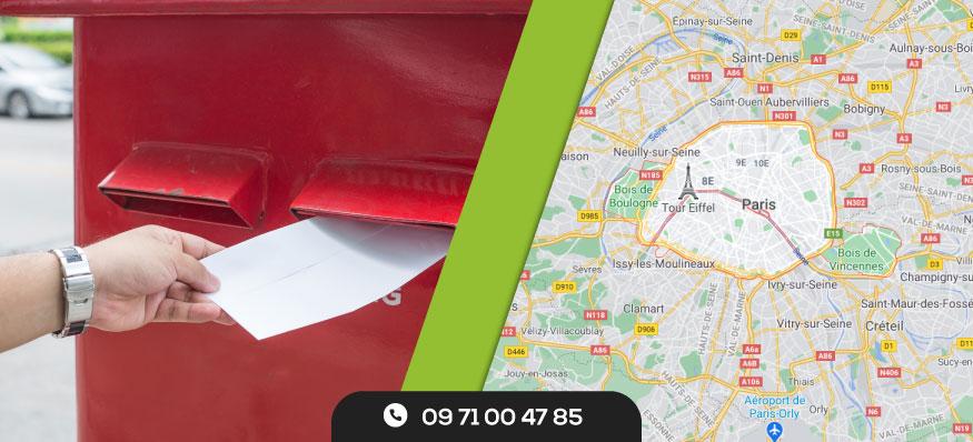 Distribution de prospectus à Paris