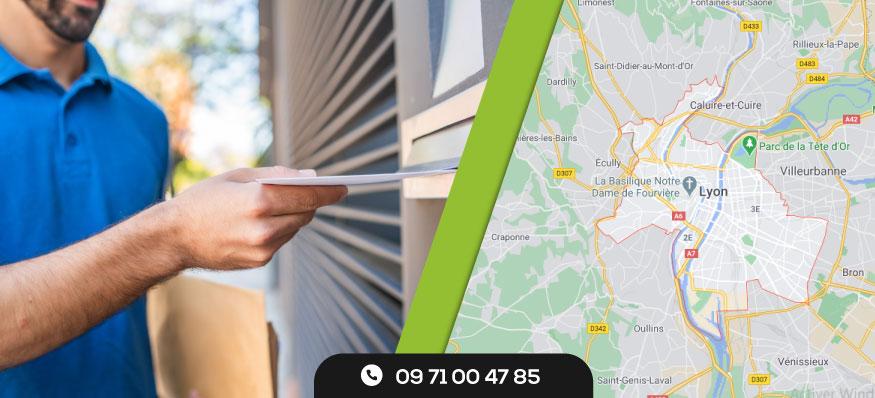 Distribution de prospectus Lyon
