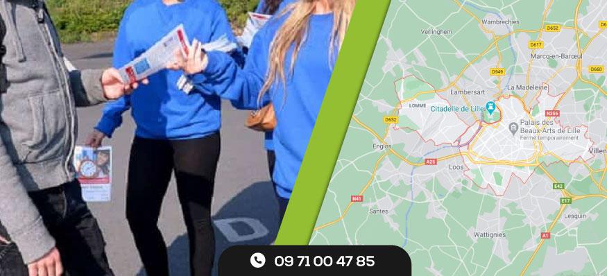Distribution de prospectus Lille