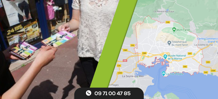 Distribution de prospectus Toulon